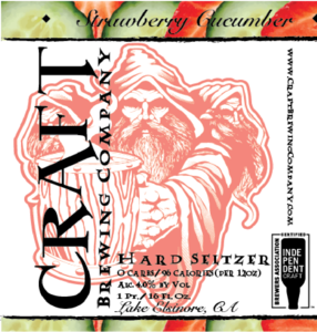 Strawberry Cucumber Craft Hard Seltzer